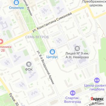 Рассвет на Яндекс.Картах