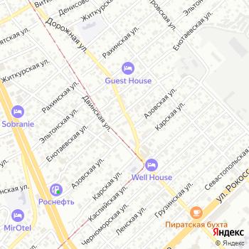 Почта с индексом 400012 на Яндекс.Картах