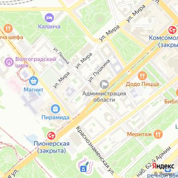 Волгоградское областное потребительское общество на Яндекс.Картах