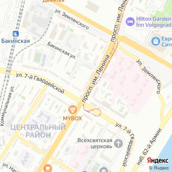 Почта с индексом 400005 на Яндекс.Картах