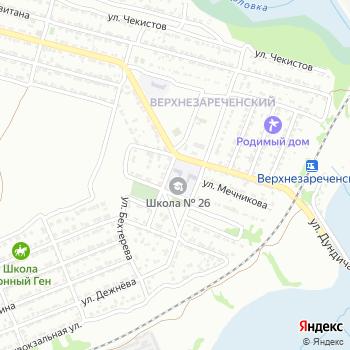 Средняя общеобразовательная школа №26 на Яндекс.Картах