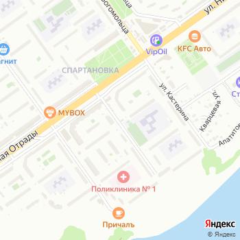 АКС-34 на Яндекс.Картах