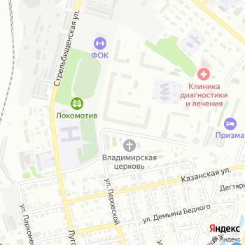 Новоказанский на Яндекс.Картах