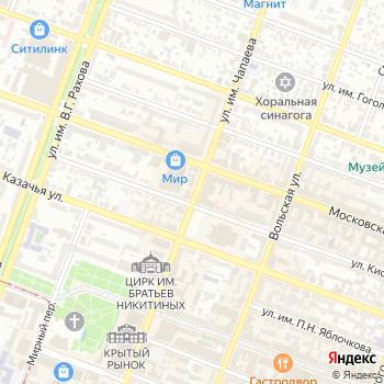 Электрический мир на Яндекс.Картах