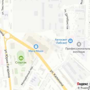Красный Куб на Яндекс.Картах