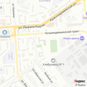 Голос`Ок на Яндекс.Картах