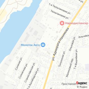 KIA Нахимовский на Яндекс.Картах