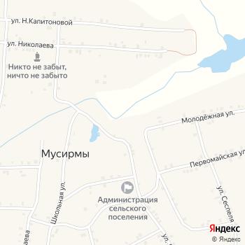 Почта с индексом 429421 на Яндекс.Картах