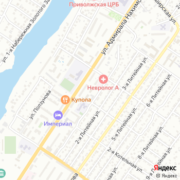 Астраханский на Яндекс.Картах