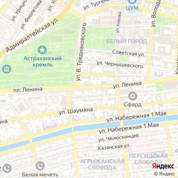 Астраханский культурный центр на Яндекс.Картах