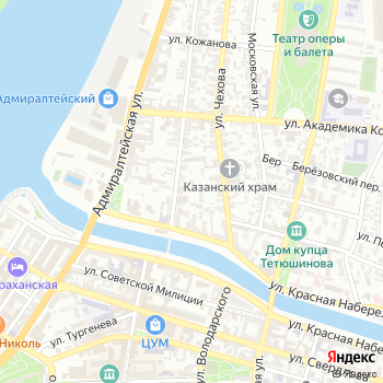 Зодиак на Яндекс.Картах