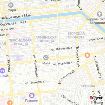 Архив Каспийской флотилии на Яндекс.Картах