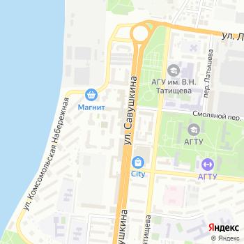 Карфаген на Яндекс.Картах