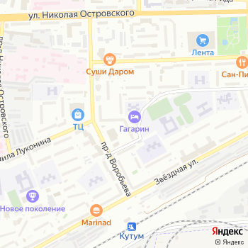 Библиотека №4 на Яндекс.Картах