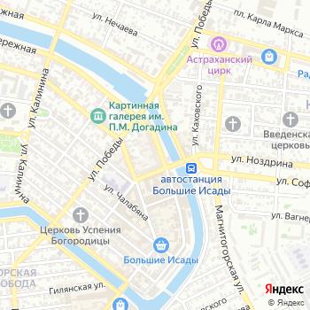 Силуэт Аст на Яндекс.Картах