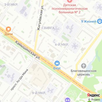 Почта с индексом 432029 на Яндекс.Картах