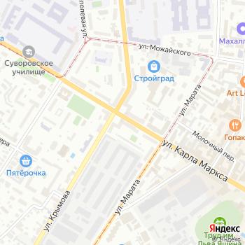 Почта с индексом 432001 на Яндекс.Картах