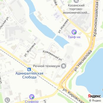 Пожарная часть №4 Кировского района на Яндекс.Картах