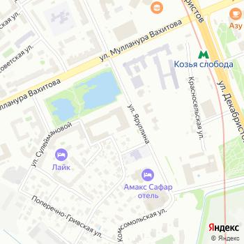 Пожарная охрана Республики Татарстан на Яндекс.Картах