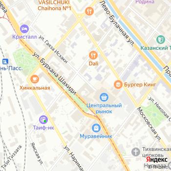 Снежинка на Яндекс.Картах