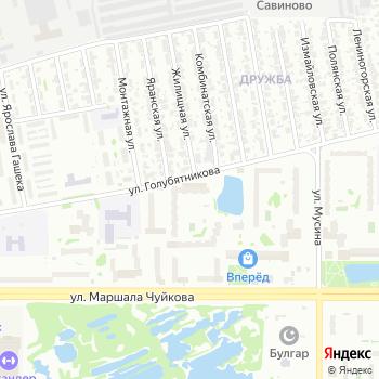 Отдел службы судебных приставов по Ново-Савиновскому району г. Казани на Яндекс.Картах