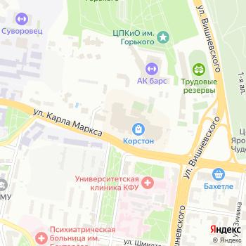Легион на Яндекс.Картах