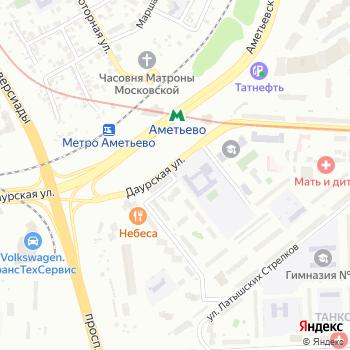 АяШи на Яндекс.Картах