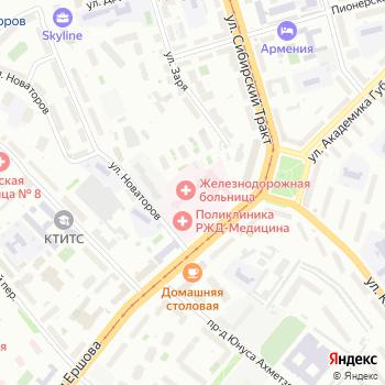Отделенческая клиническая больница на станции Казань на Яндекс.Картах