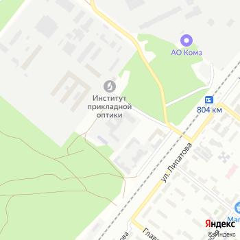 Никси на Яндекс.Картах