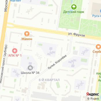 Алый парус на Яндекс.Картах