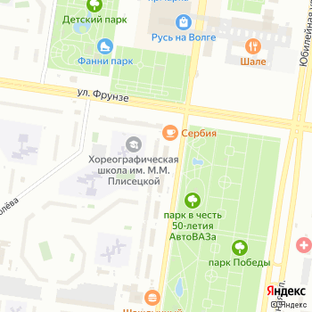 Почта с индексом 445043 на Яндекс.Картах