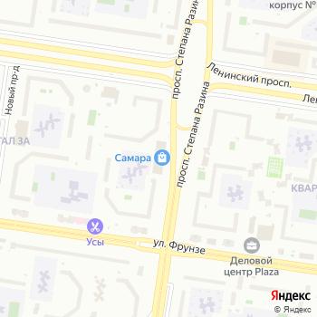 Самара на Яндекс.Картах