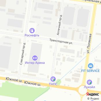 33 тарелки на Яндекс.Картах