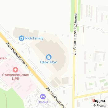 Бюстье на Яндекс.Картах