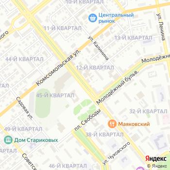 Почта с индексом 445011 на Яндекс.Картах