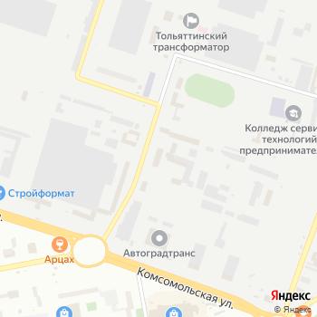 КАР-Сити на Яндекс.Картах