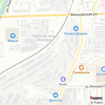 Деловая Русь-Киров на Яндекс.Картах