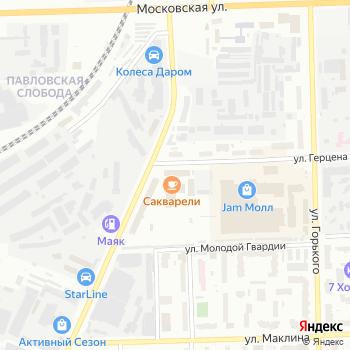 Меркурий-Сервис на Яндекс.Картах