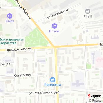Кировские срубы на Яндекс.Картах