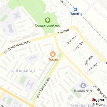 Сервис Телеком на Яндекс.Картах