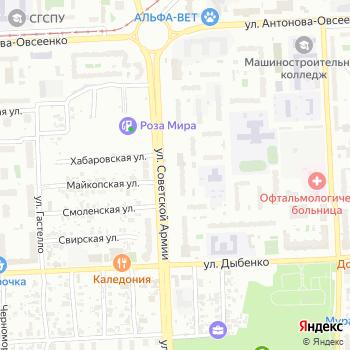 Почта с индексом 443066 на Яндекс.Картах