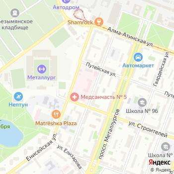 Медико-санитарная часть №5 на Яндекс.Картах