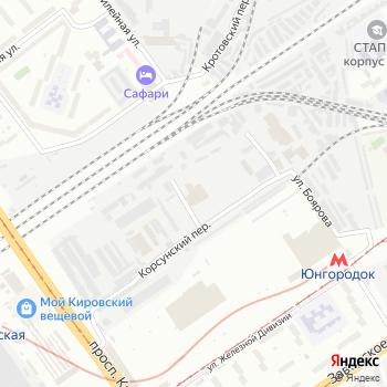 КМ на Яндекс.Картах
