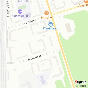 На Весенней на Яндекс.Картах