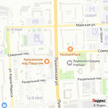 Киоск по продаже цветов на Яндекс.Картах