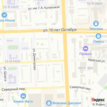 Инструментальный парк на Яндекс.Картах