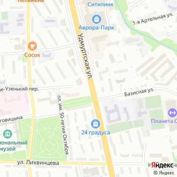 Киоск по продаже фастфудной продукции на Яндекс.Картах