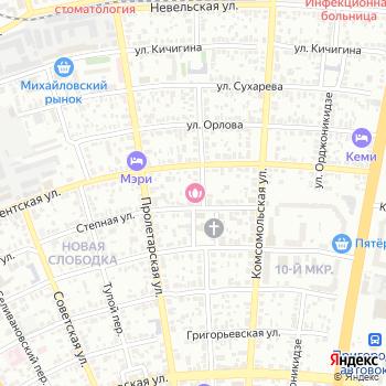 Ригель на Яндекс.Картах