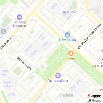 Санж на Яндекс.Картах
