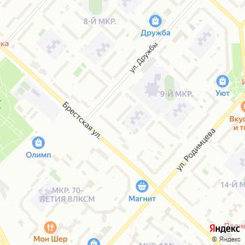 Гамма на Яндекс.Картах